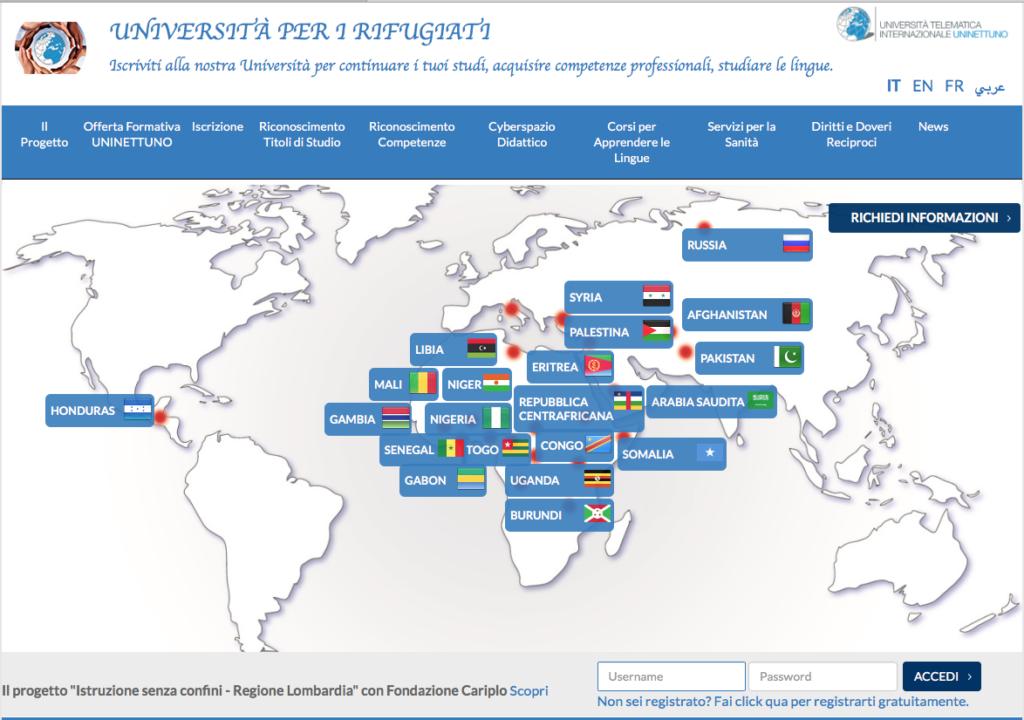 L'Università per i Rifugiati che insegna la (e in) lingua italiana