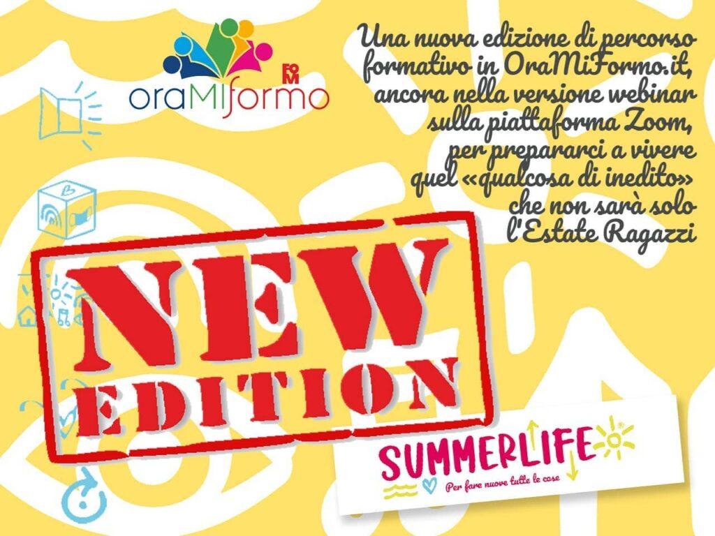 Quest'anno in Lombardia l'oratorio estivo si chiama... Summerlife