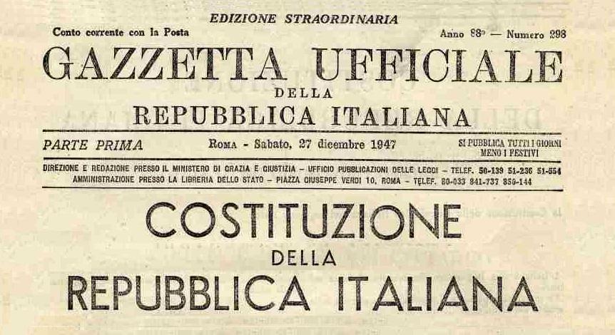 La Costituzione della Repubblica Italiana non indica l'italiano come lingua ufficiale https://it.wikipedia.org/wiki/Lingua_italiana#Italia